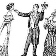 Society Hypnotist, 1900 Art Print