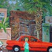 Society Street Afternoon Art Print