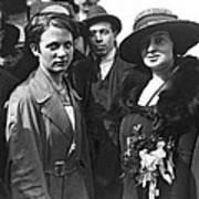 Society Women In Steerage Art Print