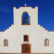 Socorro Mission La Purisima Texas Art Print