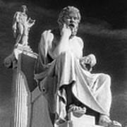 Socrates And Apollon Art Print