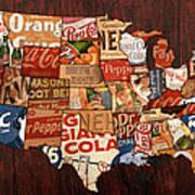 Soda Pop America Art Print