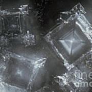 Sodium Hydroxide Crystals Art Print