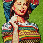 Sofia Loren Art Print