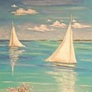 Soft Breeze Art Print by The Beach  Dreamer