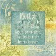 Soft Spa Mother's Day 1 Art Print