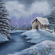 Softest Snow Art Print