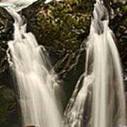 Sol Duc River Cascade Art Print