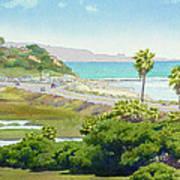 Solana Beach California Art Print