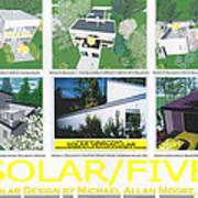 Solar Five Art Print