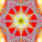 Solar Lava Art Print