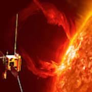 Solar Orbiter Art Print