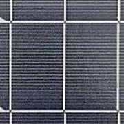 Solar Panel Collector Closeup View Art Print