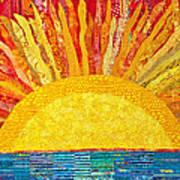 Solar Rhythms Print by Susan Rienzo
