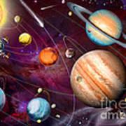 Solar System 2 Art Print