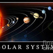 Solar System Poster Art Print by Stocktrek Images