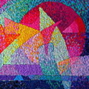 Solar Tapestry Art Print by Diane Fine