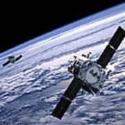 Solar Terrestrial Relations Observatory Satellites Art Print