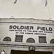 Soldier Field Art Print