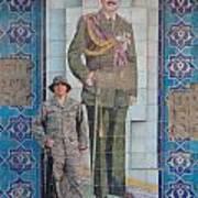 Soldier To Sedam Art Print by Sharla Fossen
