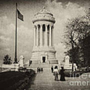 Soldiers Memorial - Ny - Toned Art Print
