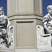 Soldiers Monument Detail Art Print