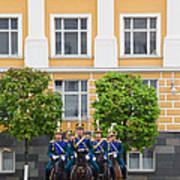 Soldiers Of The Presidential Regimental Art Print