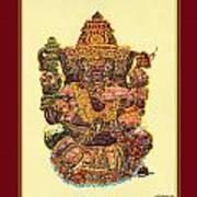 Solitaire Vinayak Art Print