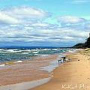 Solitude Beach Art Print