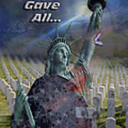 Some Gave All... Art Print