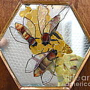 Something About Bees Art Print
