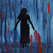 Something Wicked This Way Comes Art Print