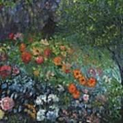 Somewhere A Garden Art Print by William Killen