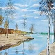 Somewhere In Dalarna Art Print