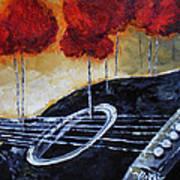 Song Of Seasons II Art Print by Vickie Warner