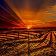 Song Of The Setting Sun Art Print