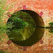 Sonning Bridge On The River Thames Art Print