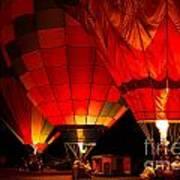 Sonoma County Hot Air Balloon Classic Art Print