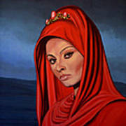 Sophia Loren 2  Art Print