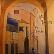Sorento Scene Art Print