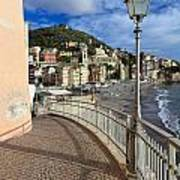 Sori - Sea And Promenade Art Print
