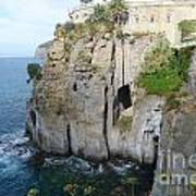 Sorrento - Cliffside Art Print