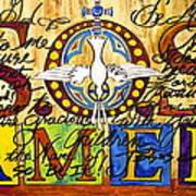 S.o.s. Amen Art Print