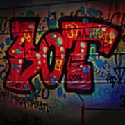 Sot Graffiti - Lisbon Art Print