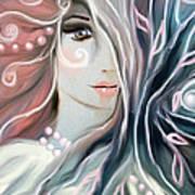 Soul Confessions Art Print by Hilda Lechuga
