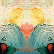 Soul Star - Abstract Art By Sharon Cummings Art Print