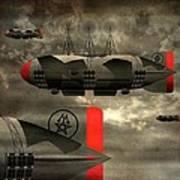 Sound Zeppelins Art Print