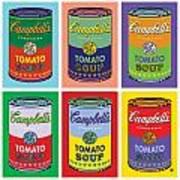 Soup Cans Art Print