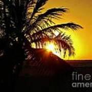 Sour Sunset Art Print