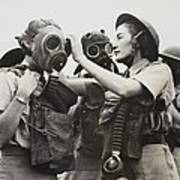 South African Womens Auxiliary Services Art Print